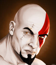 Kratos by DomEddi