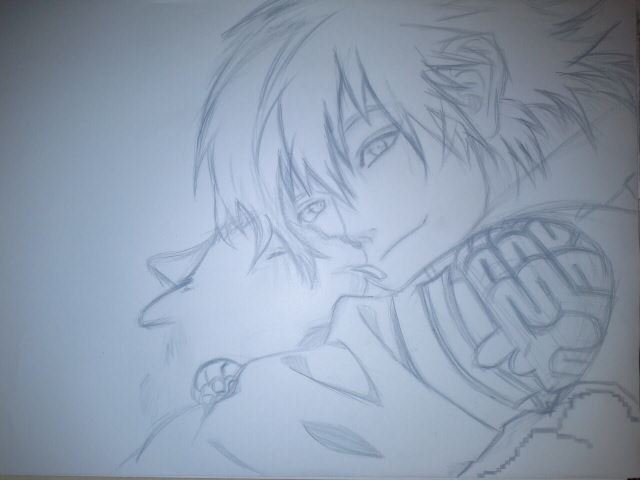 DRAMAtical Murder Aoba serangeki with ren drawing by sasori1974