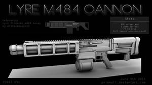 Lyre M484 Cannon by primnull