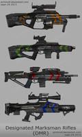 Designated Marksman Rifles by primnull