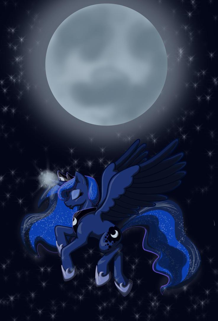 La Belle Luna by RustedRabbit