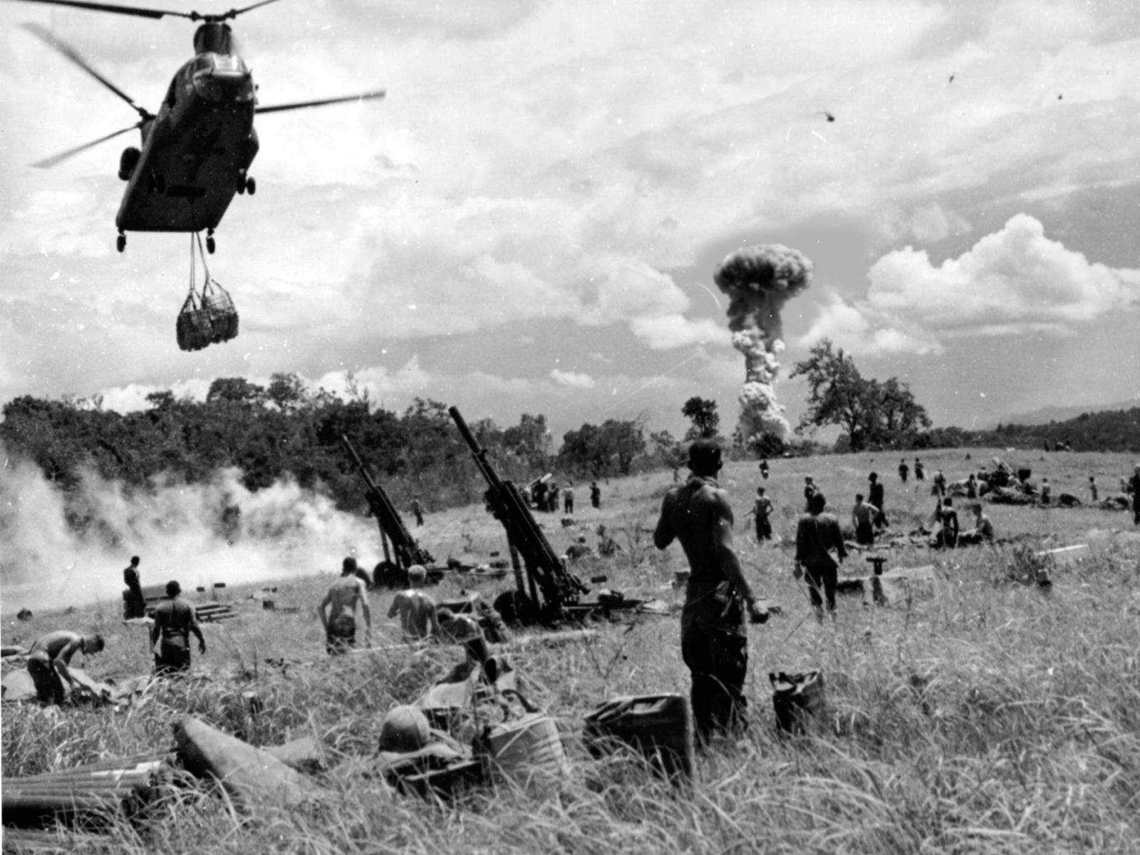 Nuclear Bombing over Vietnam and Laos by BeignetBison on ...  Nuclear Bombing...