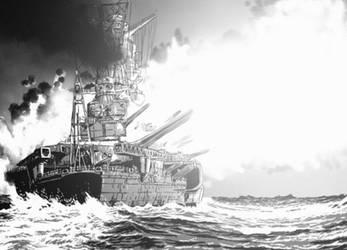 Battleship Yamato - Au Bord de l'Abime by BeignetBison