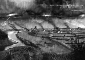 Au Bord de l'Abime - Battle of Chandernagor by BeignetBison