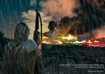 Au Bord de l'Abime - Operation Swordbreaker by BeignetBison