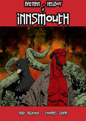 Batman and Hellboy in Innsmouth by BeignetBison