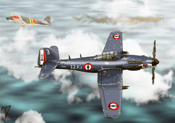 Arsenal VB.31 Requin by BeignetBison