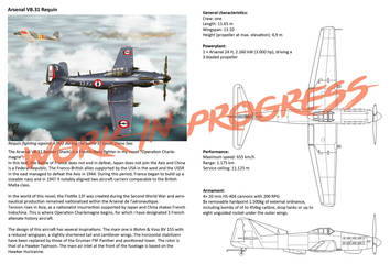 Arsenal VB.31 Requin - Alternate History Design by BeignetBison