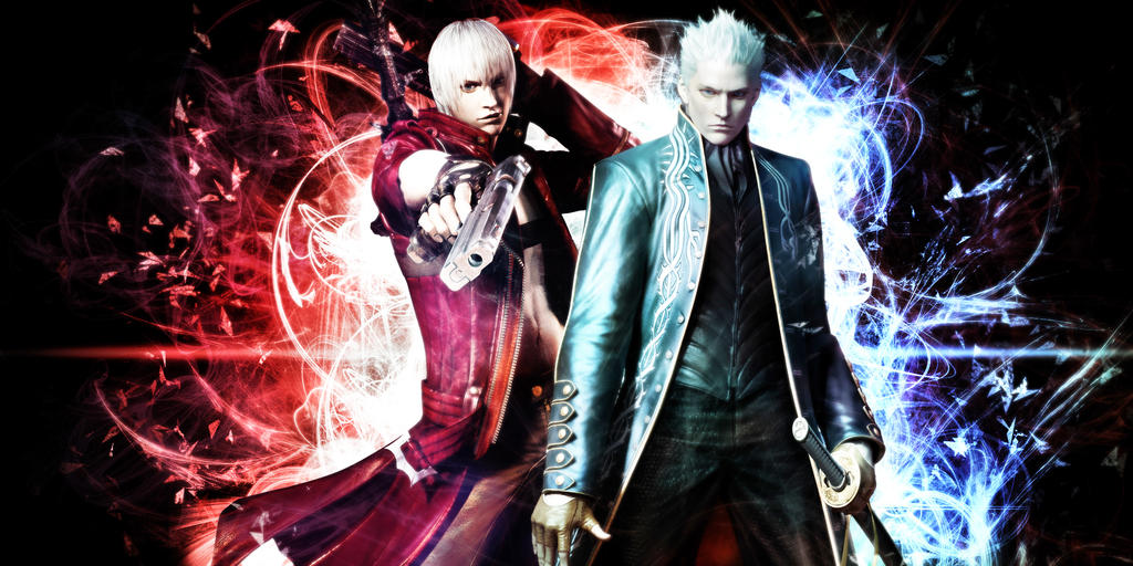 siblings dante and vergil devil may cry