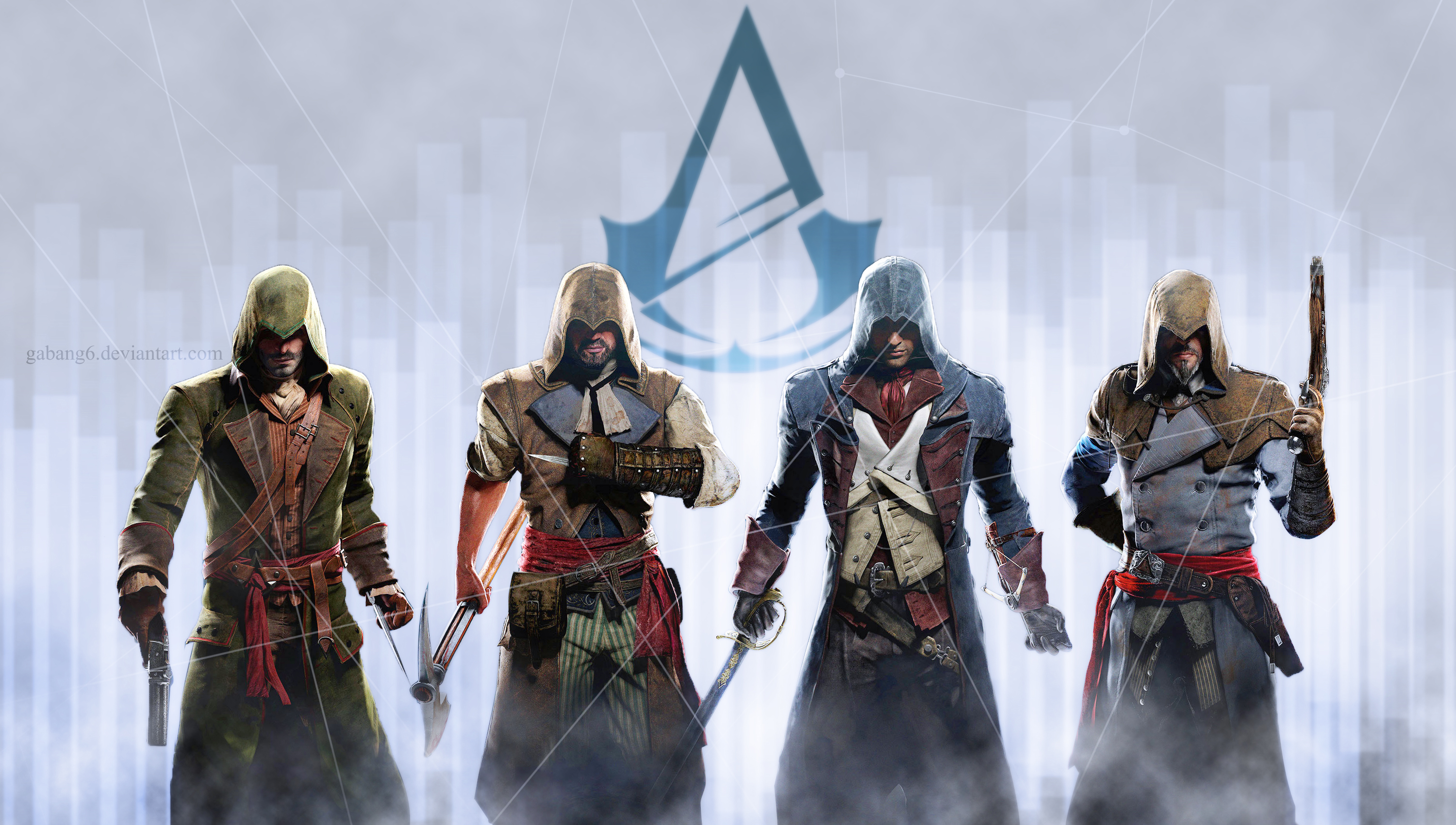 Assassin S Creed Unity Wallpaper By Gabang6 On Deviantart