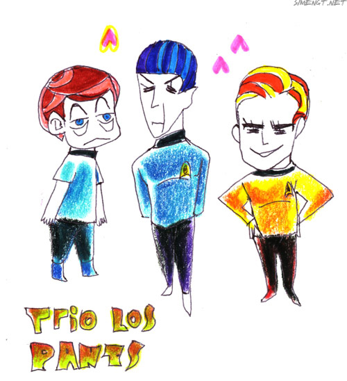 TOS_ trio los pants by simengt