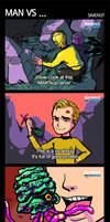 ST_MAN vs ...