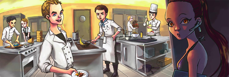 The kitchen starfleet by simengt