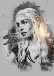 Daenerys Targaryen by Etienne-Ripzaad
