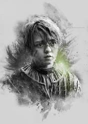 Arya Stark - Game of Thrones by Etienne-Ripzaad