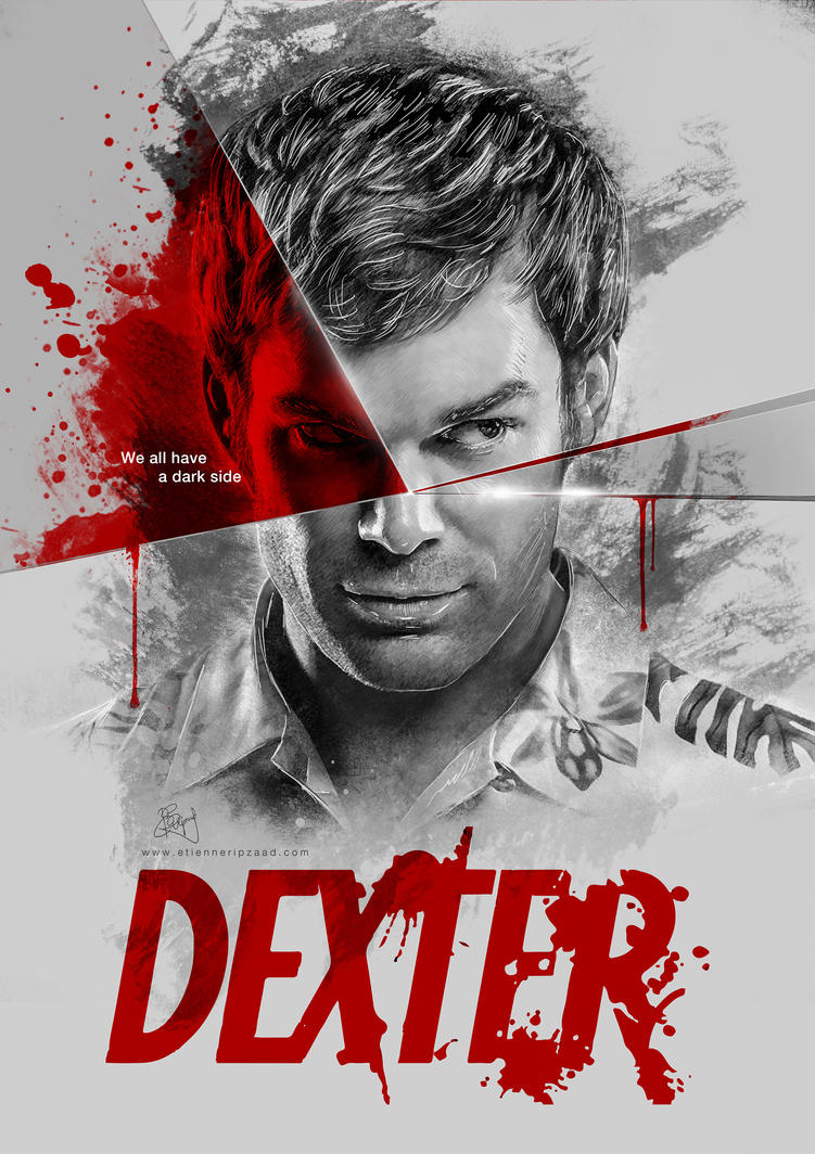 Dexter - We all have a dark side by Etienne-Ripzaad