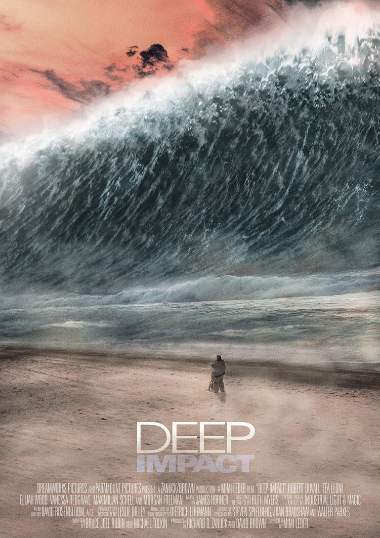 Deep Impact Poster by Etienne-Ripzaad on DeviantArt