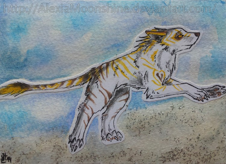 ACEO - Tyr by AlexiaMoonshine