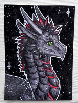 ACEO - the darkness