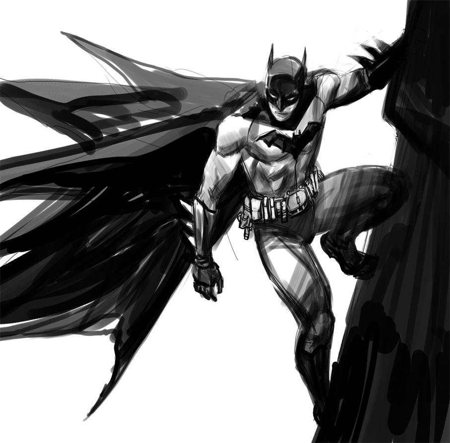 Batman by dogmeatsausage