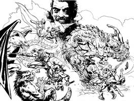 Tales TMNT 50 inks by dogmeatsausage