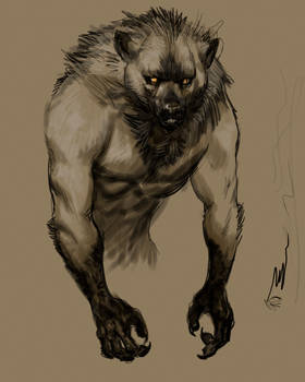 Ancient Wolf color