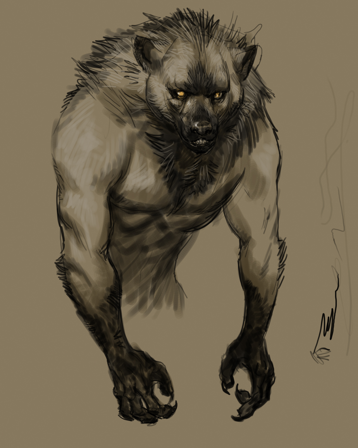 ancient werewolf wallpaper - photo #17
