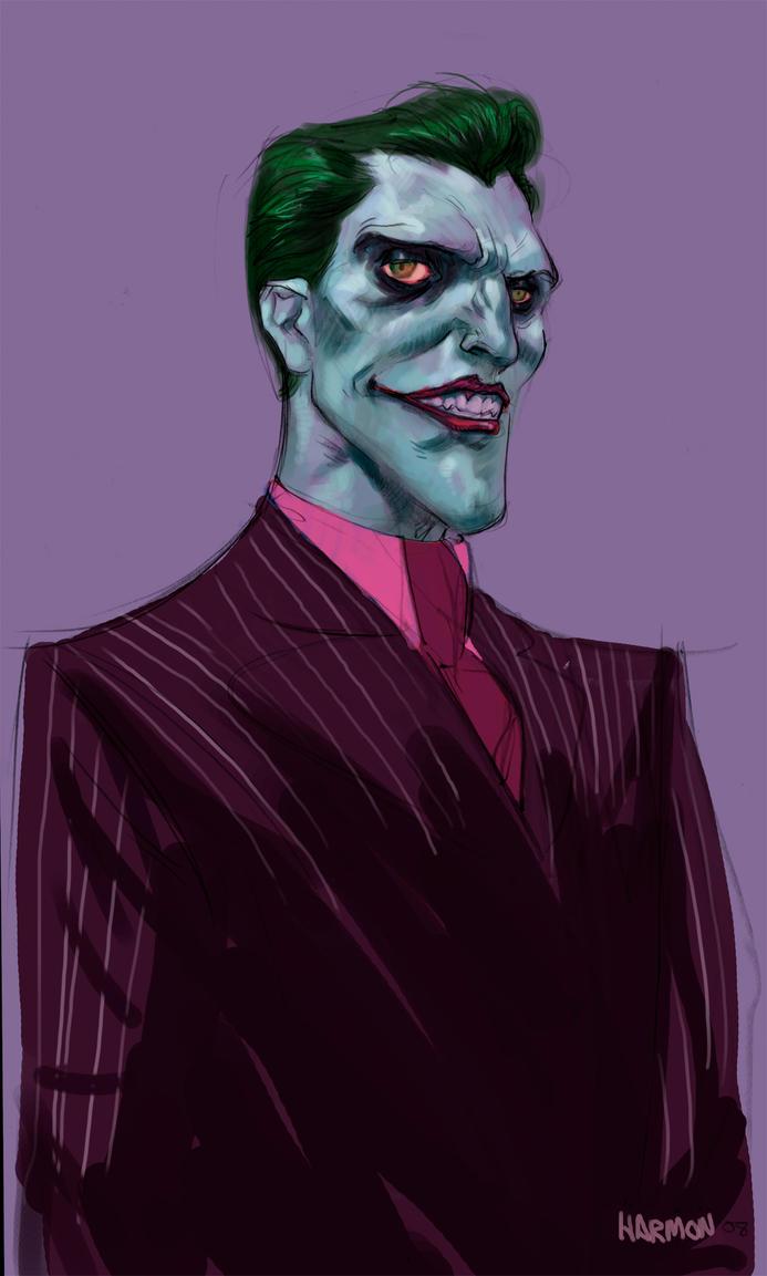 Joker in color by dogmeatsausage on deviantART
