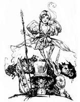 Alice in WOnderland by dogmeatsausage