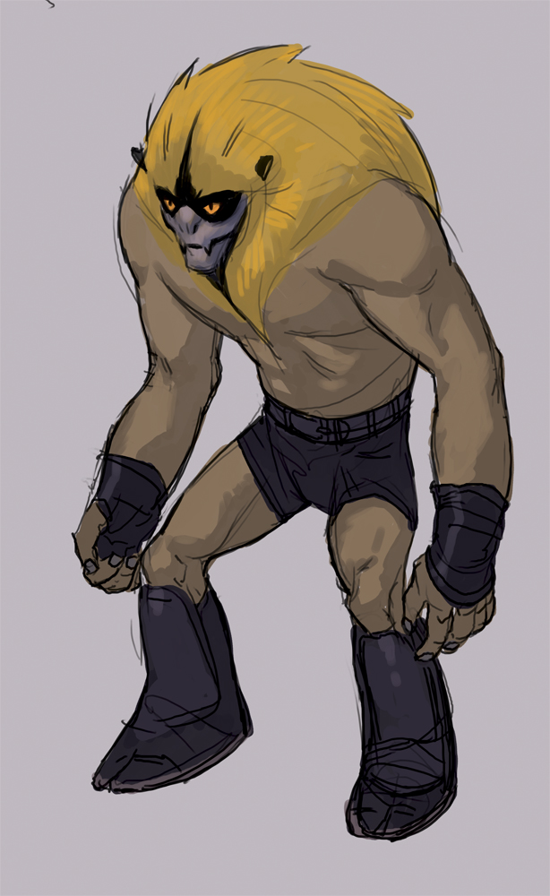 Thundarr the Barbarian - Ookla by dogmeatsausage