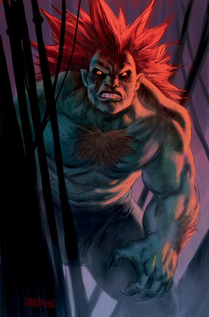 Blanka Street Fighter Tribute by dogmeatsausage
