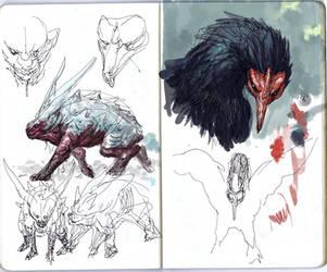 Beasts by dogmeatsausage