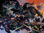 TMNT Monster Island Ultimate cover color