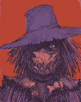 The scarecrow  by dogmeatsausage