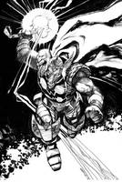 Beta Ray Bill (Thor) by dogmeatsausage