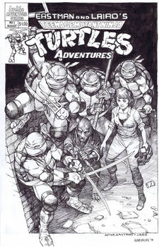 Tmnt adventures 1 recreation by dogmeatsausage