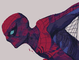 Spiderman procreate sketch by dogmeatsausage