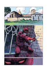 Daredevil 1 color by dogmeatsausage