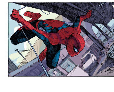 Spider-Man color by dogmeatsausage