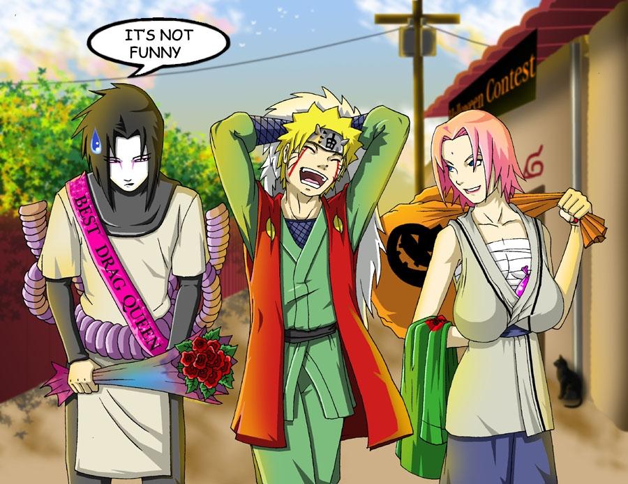 Imagenes de anime graciosas Naruto__Halloween_Special_by_JJ_ANIME