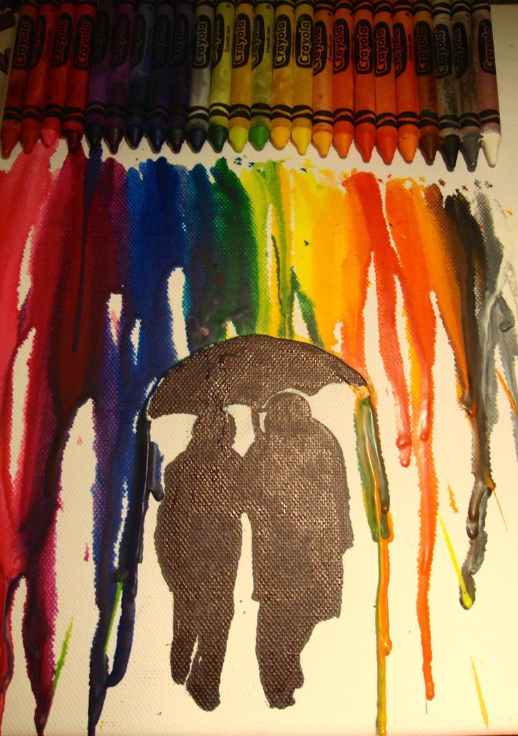 shielded under the umbrella by Teeno2007