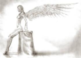 Angel 2 by KayIglerART