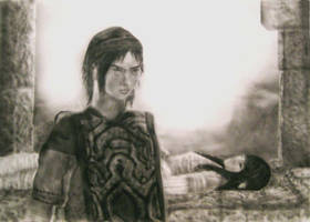 Shadow of the Colossus by KayIglerART