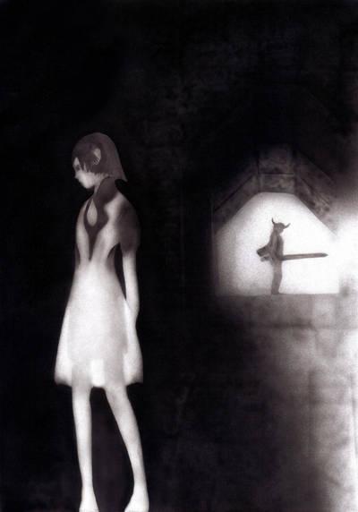 Ico and Yorda by KayIglerART