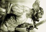 Son of Odin 2 by KayIglerART