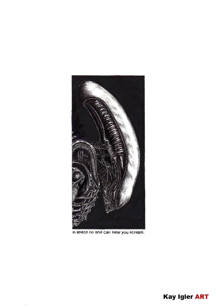 Alien by KayIglerART