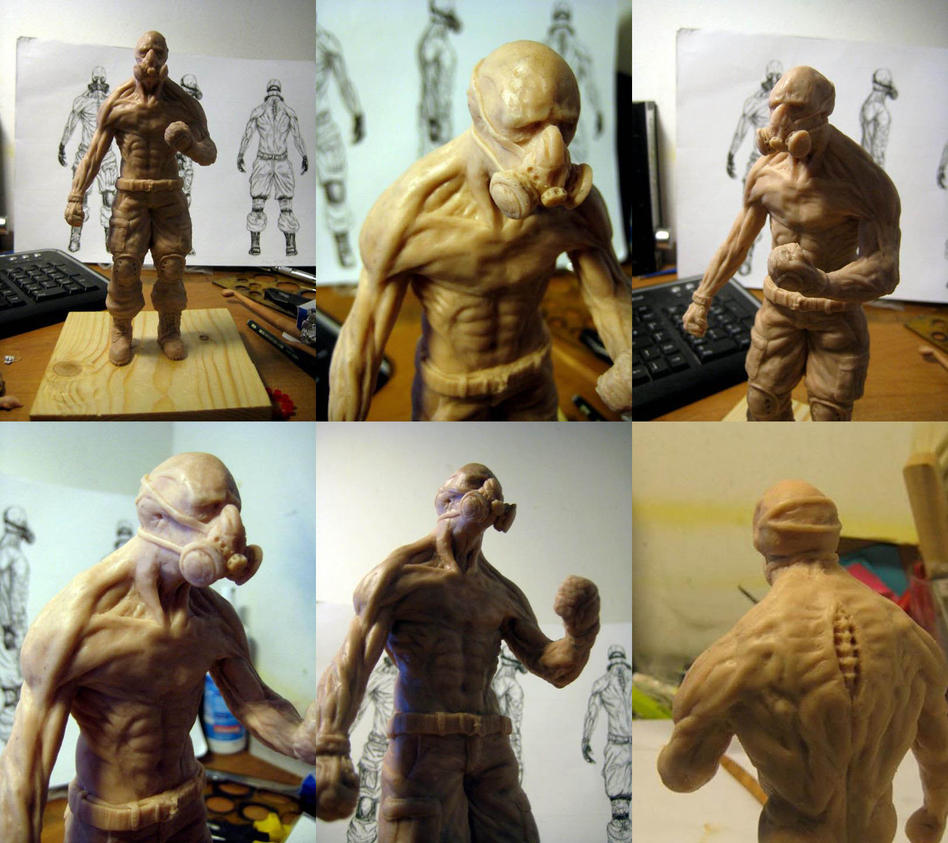 Sculpey Mutant Soldier by KayIglerART