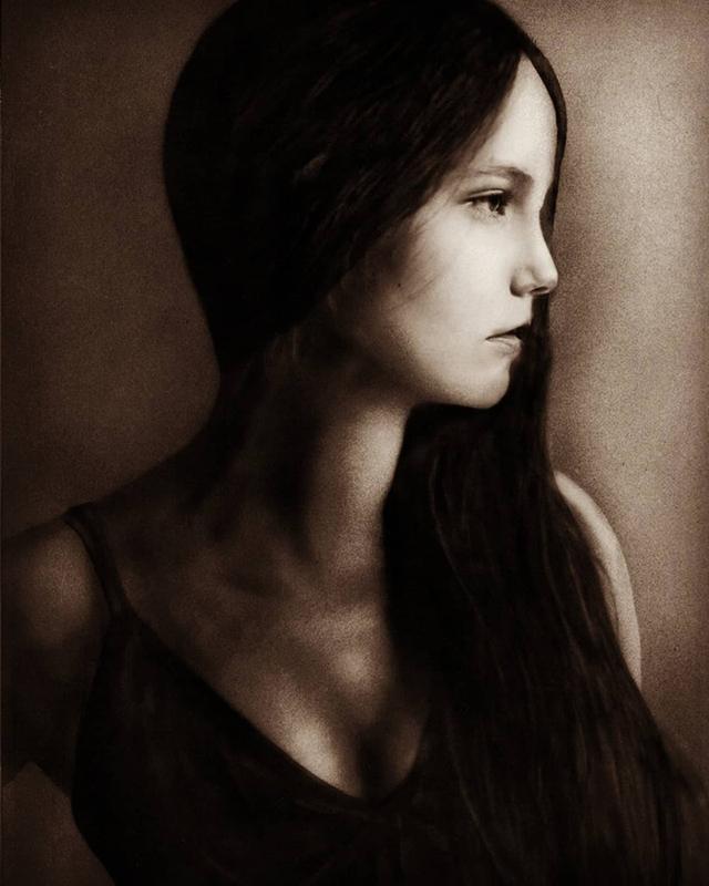 Airbush Portrait by KayIglerART