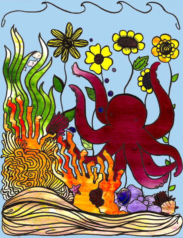The Octopus 39 Garden By Purple Sprinkles On Deviantart