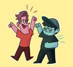 Matt and Ryan from SuperMega